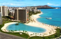 Hilton Hawaiian Village、 Waikiki Beach Resort (ヒルトン ハワイアンビレッジ ワイキキ ビーチリゾート)