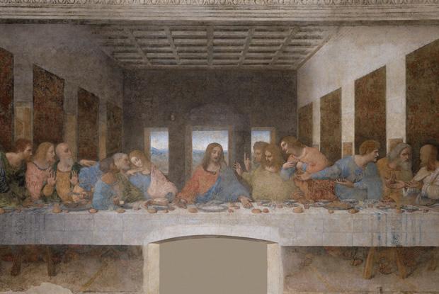 ダ・ヴィンチ「最後の晩餐」の謎を探そう