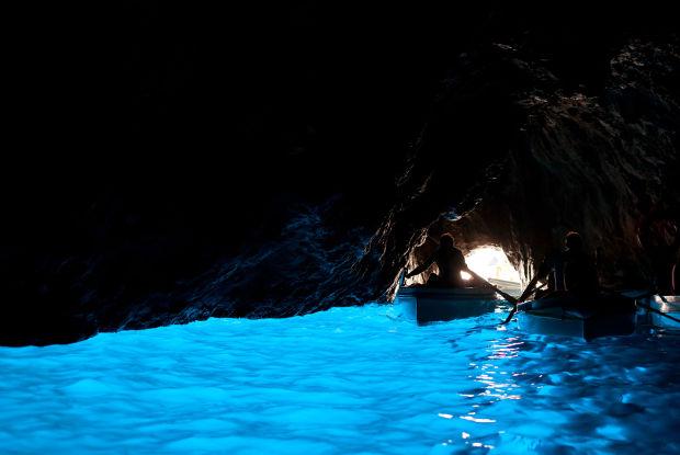 イタリア 青の洞窟