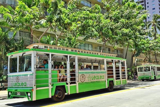 ハワイではトロリーを上手に使いこなして観光&ショッピング上手になろう