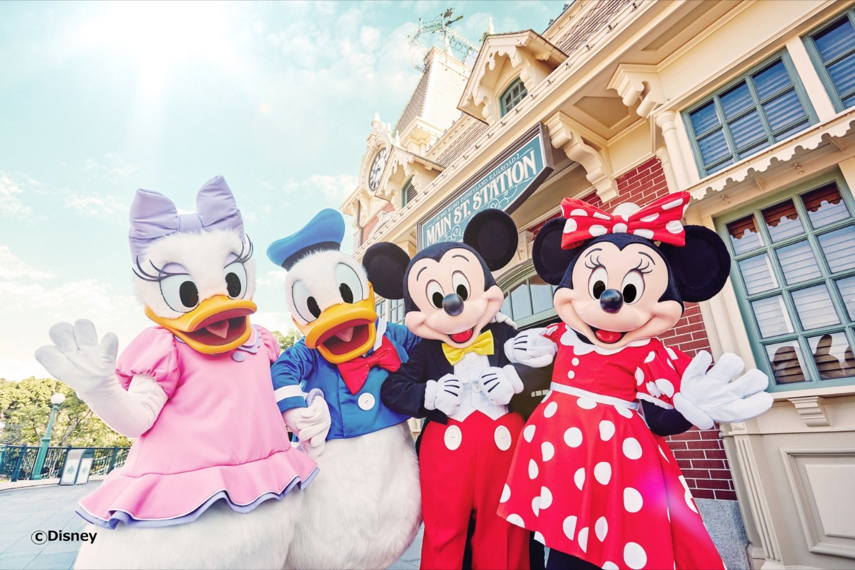 香港に行ったら必ず行くべき!世界中のみんなが愛してやまないディズニーランド!【香港】