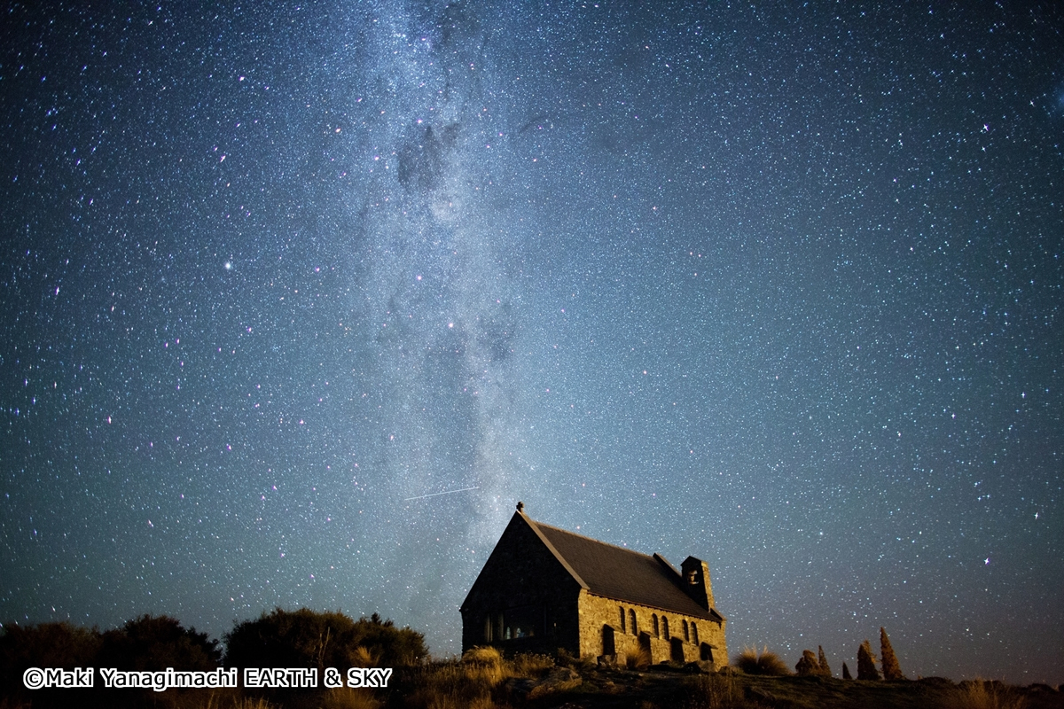 テカポ湖で満点の星空に包まれる! 南十字星に届きそうなニュージーランドの空