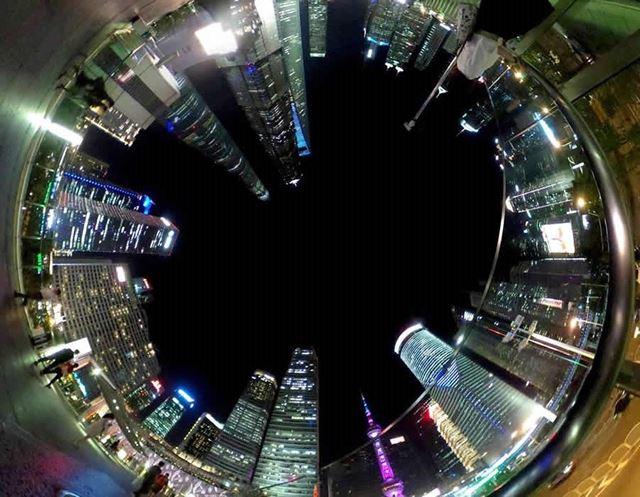 上海は素敵な夜景の宝庫