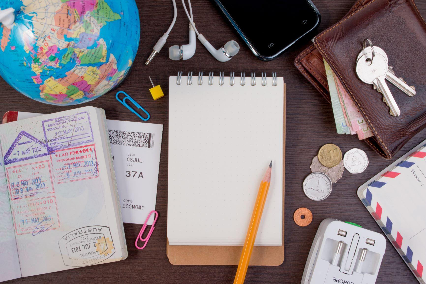 海外旅行持ち物リスト