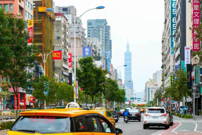 台北街並み