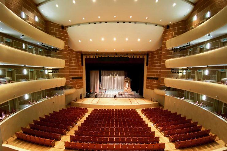 マリインスキー劇場の大ホール