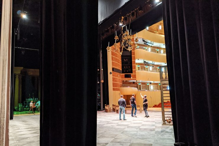 マリインスキー劇場の舞台裏