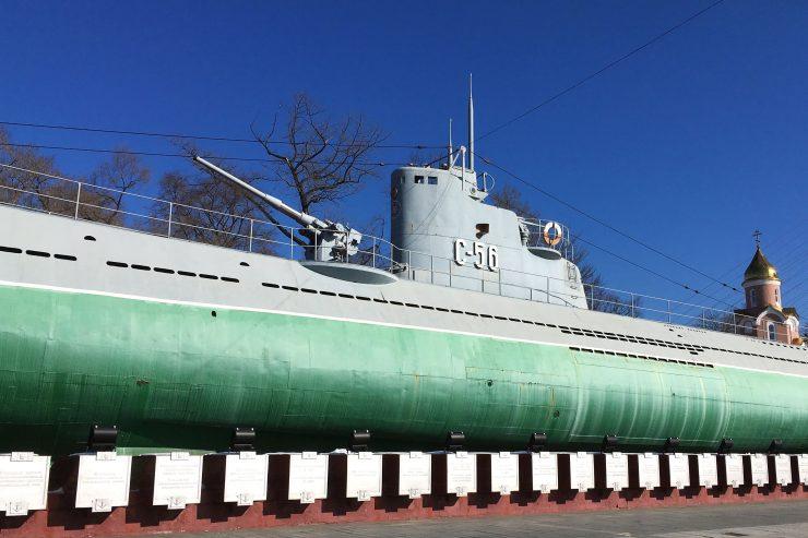 S56潜水艦博物館