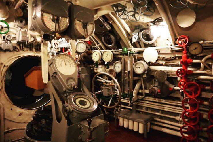 S56潜水艦博物館船内