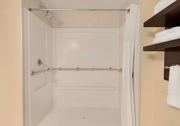 Mobility Accessible Roll-in Shower