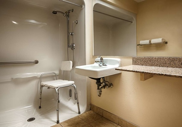 ADA Mobility Accessible Bathroom