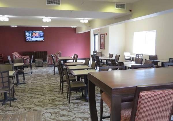 Breakfast Dining Area
