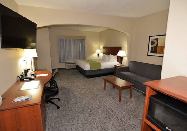 Mobility Accessible King Suite