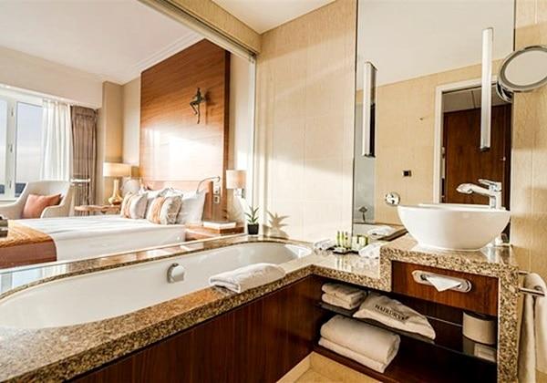 Superior City View Bathroom