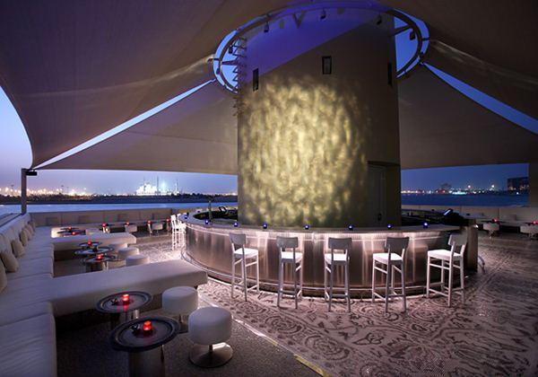 Pearls & Caviar rooftop bar