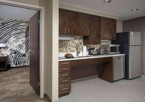 1 King Accessible Suite Kitchen