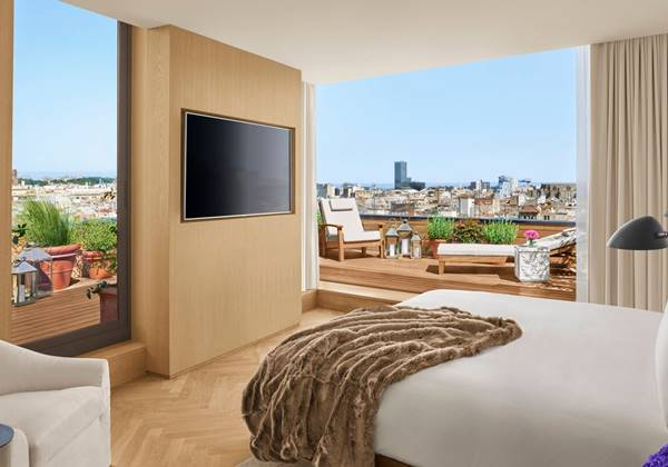 Guest Room - Barcelona Penthouse