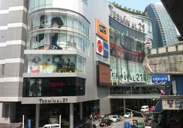 "Shopping mall""Terminal 21""~(230 meters)"