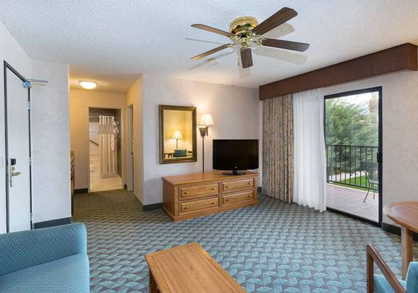 Luxury King Suite Sitting Area
