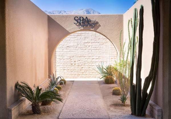 Serenity Spa Entrance