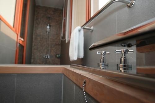 客室内温泉風呂