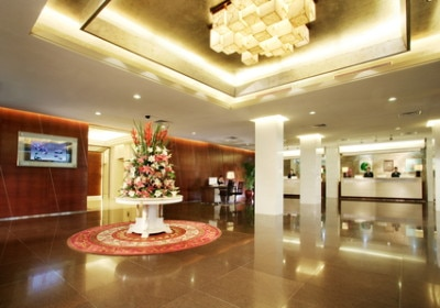Lobby View.