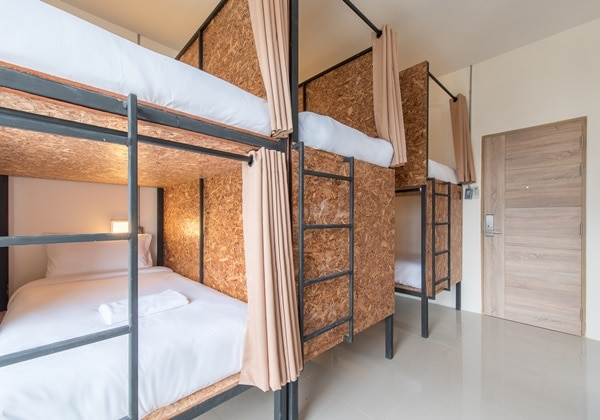 Single Bed Female Dormitory