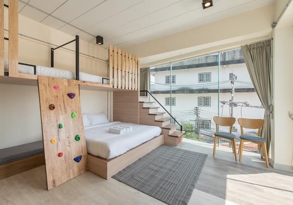 Duplex Suite with Private Bathroom