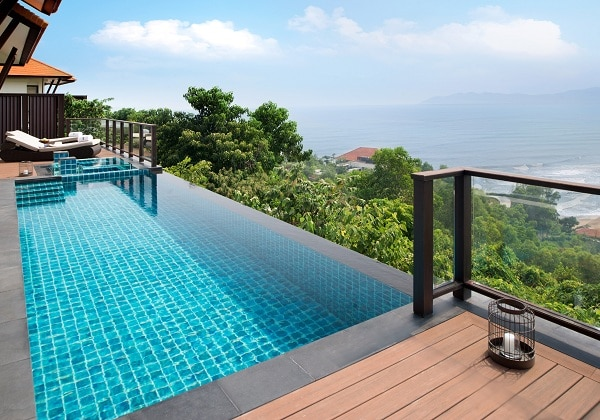 Two Bedroom Seaview Hill Pool Villa