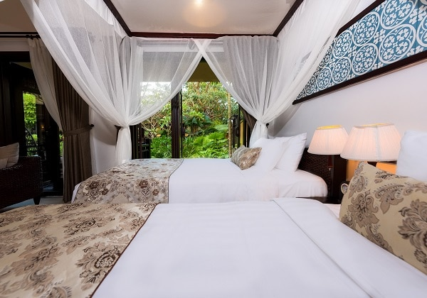 Villa Twin Bed Garden and Lake View