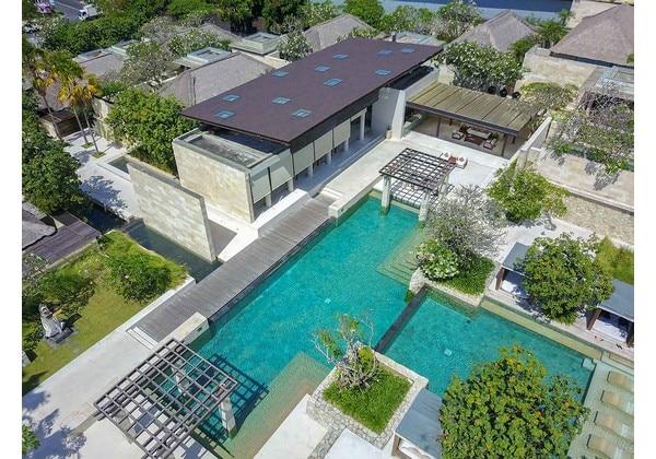 Main Pool Aerial
