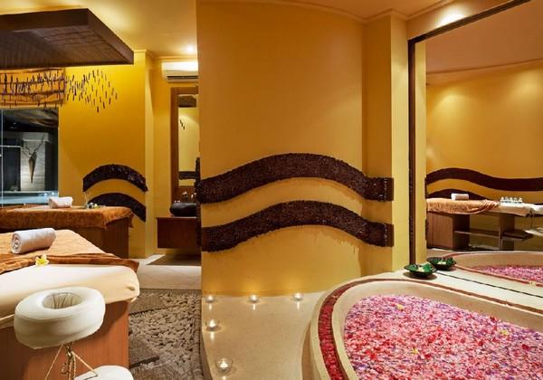 Spa Flower Bath