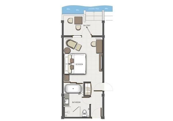 Lagoon Access Room