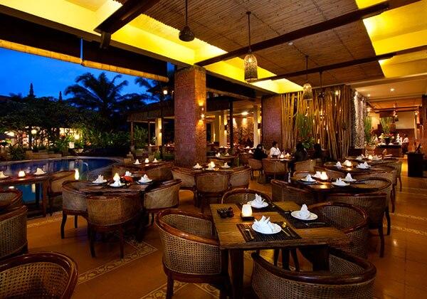 Gabah Restaurant - Pool View