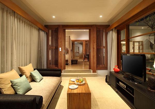 1 Bedroom Pool Villa - Living