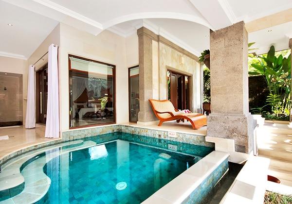Garden villa-pool