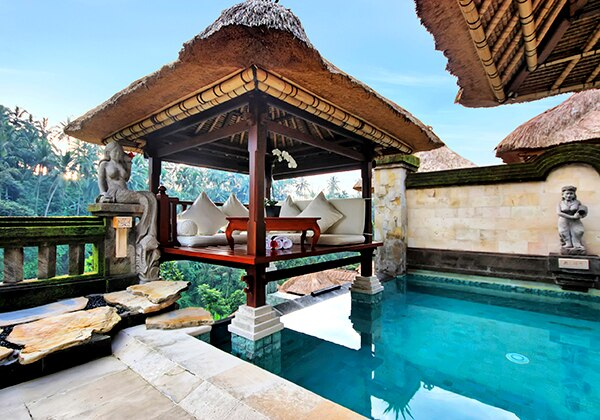 Terrace Villa Bale Pool