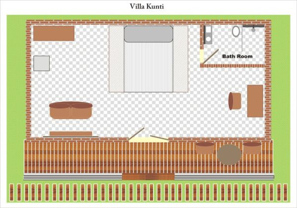 Villa Kunti Layout
