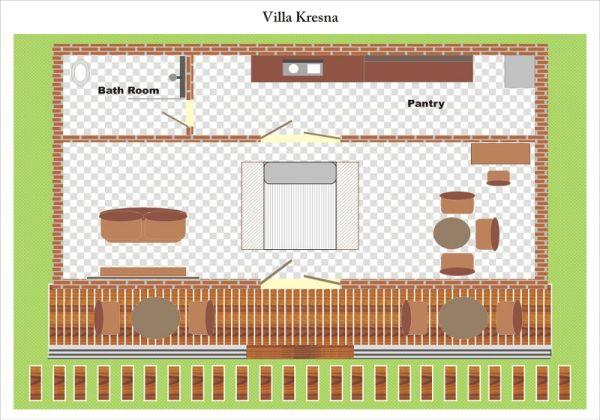Villa Kresna Layout