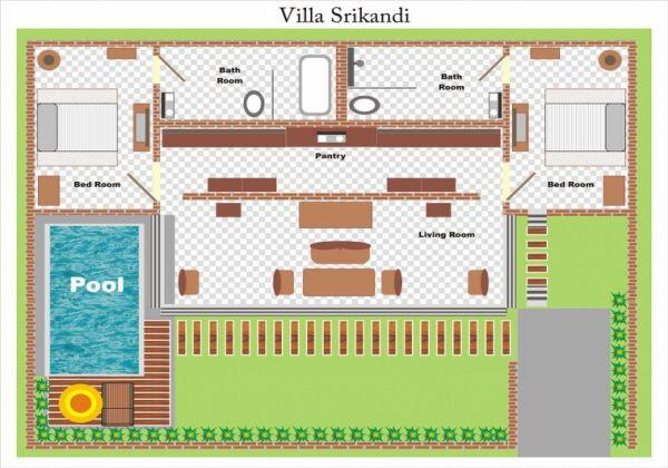 Villa Srikandi Layout