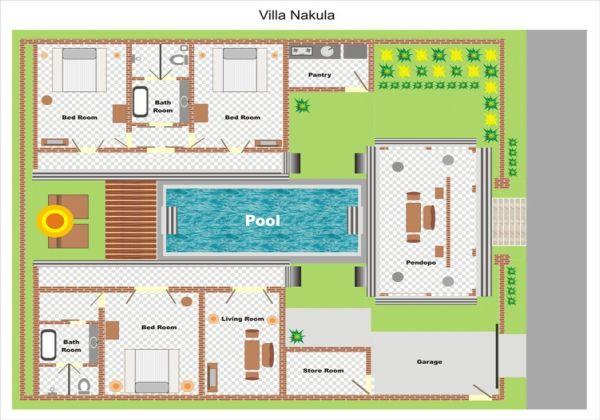 Villa Nakula Layout