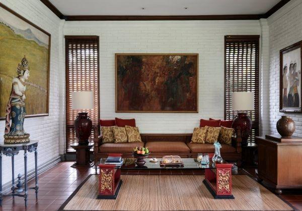 Spa Pool Villa Living Area