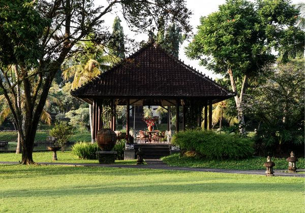 Bale Dedari-Garden View