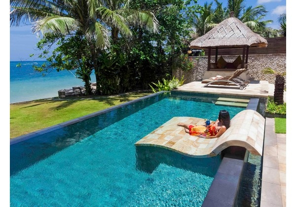 Beachfront Private Pool Villa 2 Bedroom