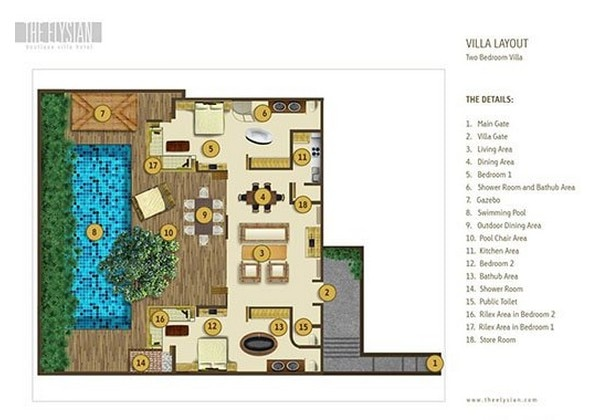 2 Bedroom Villa