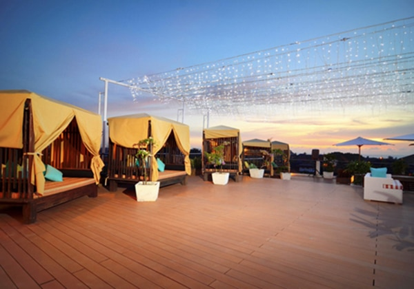 Cabanas at Rooftop