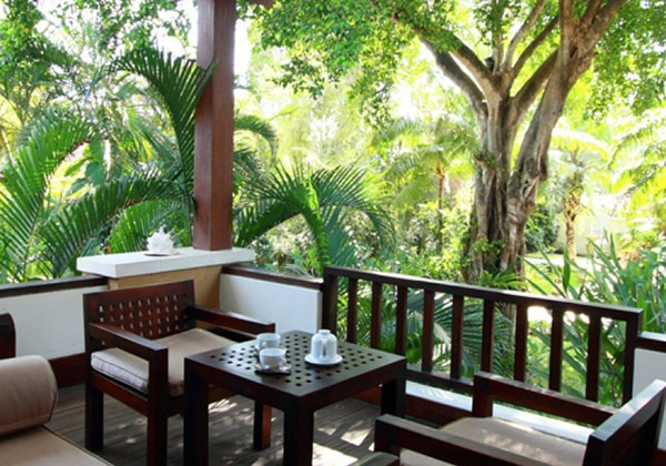 Sandi Phala Suite Balcony