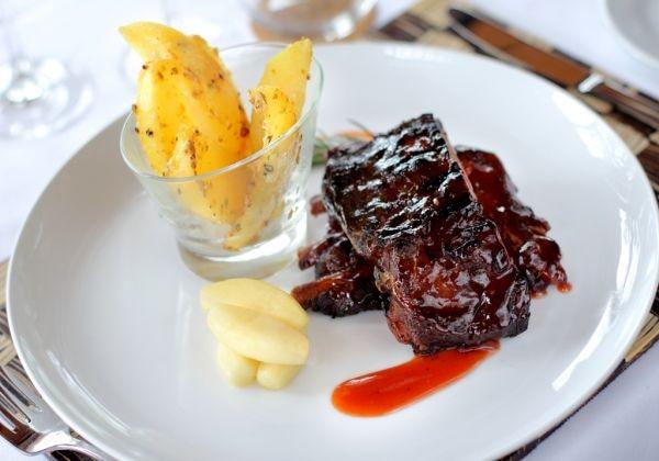 Bourbon Pork Rib