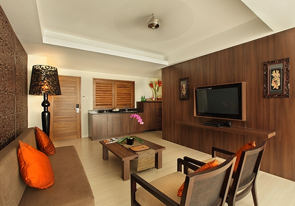 1 Bedroom Pool Villa - Livingroom