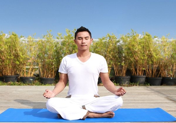 Yoga at Rooftop Garden